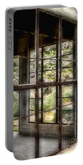 Looking Through The Window By Diana Sainz Portable Battery Charger