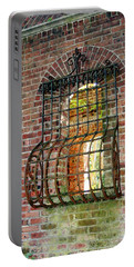 Looking Through Time Portable Battery Charger by Karen Silvestri