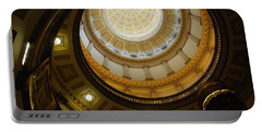 Looking Up The Capitol Dome - Denver Portable Battery Charger
