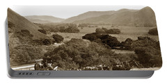 Looking Up The Carmel Valley California Circa 1880 Portable Battery Charger