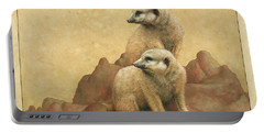 Lookouts Portable Battery Charger by James W Johnson