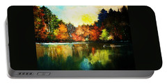 Autumn In Loon Country Ll Portable Battery Charger