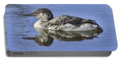 Loon On Vacation Portable Battery Charger