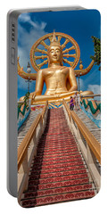 Lord Buddha Portable Battery Charger