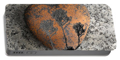 Portable Battery Charger featuring the photograph Lost Heart by Juergen Weiss