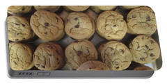 Lotta Cookies Portable Battery Charger by Kevin Caudill