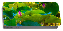 Lotus Garden Portable Battery Charger
