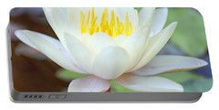 Lotus Flower 02 Portable Battery Charger