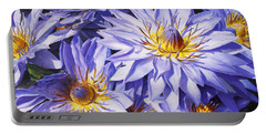 Lotus Light - Hawaiian Tropical Floral Portable Battery Charger by Karen Whitworth