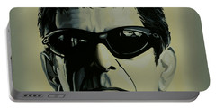 Lou Reed Painting Portable Battery Charger
