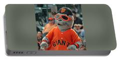 Lou Seal San Francisco Giants Mascot Portable Battery Charger