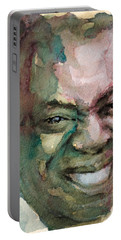 Louis Armstrong Portable Battery Charger by Laur Iduc