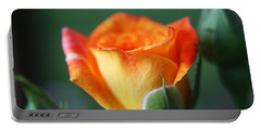 Louisiana Orange Rose Portable Battery Charger