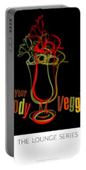 Lounge Series - Drink Your Bloody Veggies Portable Battery Charger