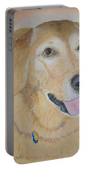 Love And Devotion Portable Battery Charger by Norm Starks