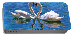 Love For Lauren On Lake Eola By Diana Sainz Portable Battery Charger