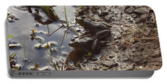 Love Frogs Portable Battery Charger by Michael Porchik