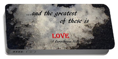 Love Is Great Portable Battery Charger