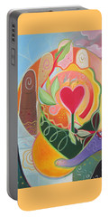 Love Is Love Portable Battery Charger by Helena Tiainen