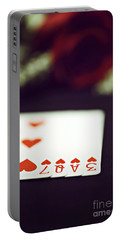 Portable Battery Charger featuring the photograph Love Trick by Trish Mistric