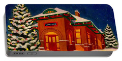 Loveland Depot At Christmas Portable Battery Charger