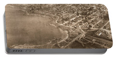 Aerial Of Lovers Point And Pacific Grove California July 10 1906 Portable Battery Charger