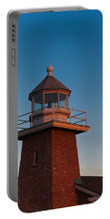 Low Angle View Of A Lighthouse Museum Portable Battery Charger