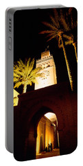 Low Angle View Of A Mosque Lit Portable Battery Charger