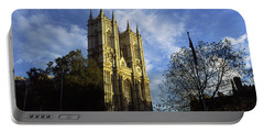 Low Angle View Of An Abbey, Westminster Portable Battery Charger