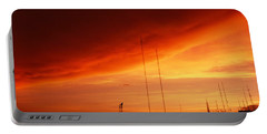 Low Angle View Of Antennas, Phoenix Portable Battery Charger by Panoramic Images