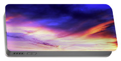Low Angle View Of Sky At Sunset, Cape Portable Battery Charger