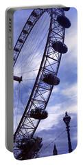 Low Angle View Of The London Eye, Big Portable Battery Charger by Panoramic Images