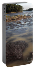 Low Tide At Blackwater Wildlife Refuge In Maryland Portable Battery Charger