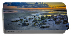 Low Tide On The Bay Portable Battery Charger