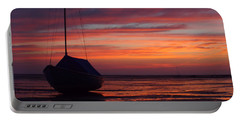 Sunrise At Low Tide Portable Battery Charger