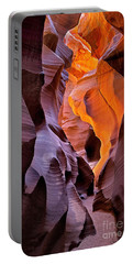 Portable Battery Charger featuring the photograph Lower Antelope Glow by Jerry Fornarotto
