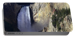 Portable Battery Charger featuring the photograph Lower Falls by David Andersen