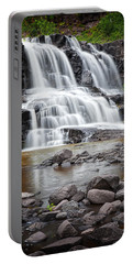 Lower Gooseberry Falls Portable Battery Charger by Randall Nyhof