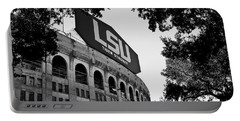 Lsu Through The Oaks Portable Battery Charger by Scott Pellegrin