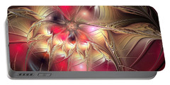 Portable Battery Charger featuring the digital art Lucid Dream by Svetlana Nikolova