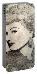 Lucille Ball Portable Battery Charger