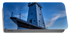 Portable Battery Charger featuring the photograph Ludington Lighthouse by Sebastian Musial