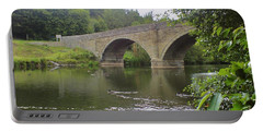 Portable Battery Charger featuring the photograph Ludlow Bridge by John Williams