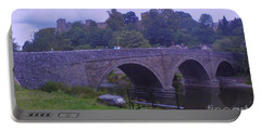 Portable Battery Charger featuring the photograph Ludlow Castle by John Williams