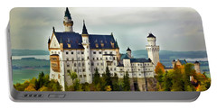 Neuschwanstein Castle In Bavaria Germany Portable Battery Charger