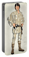 Luke Skywalker - Mark Hamill  Portable Battery Charger by Ayse Deniz