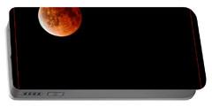 Lunar Eclipse April 15  2014 Portable Battery Charger