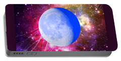 Portable Battery Charger featuring the photograph Lunar Magic by Leanne Seymour
