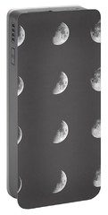 Lunar Phases Portable Battery Charger