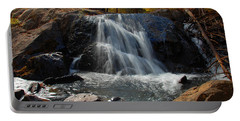 Portable Battery Charger featuring the photograph Lundy Creek Cascades by Lynn Bauer